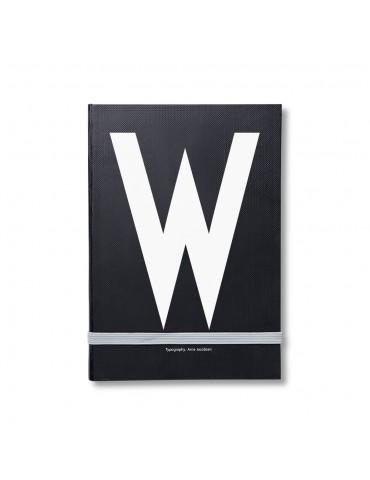 Notes z literą Design Letters